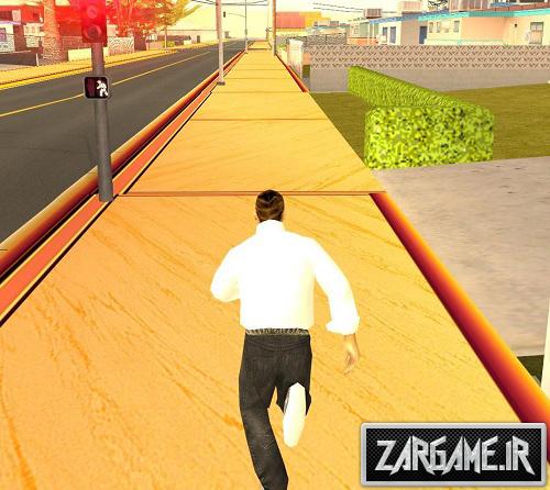 دانلود مد دویدن بی پایان برای (GTA 5 (San Andreas