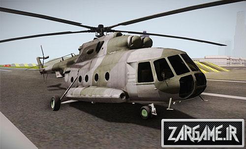 دانلود هلیکوپتر جنگی Mi-8 برای (GTA 5 (San Andreas