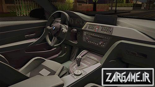 دانلود ماشین BMW M4 با پینت جاب زیبا برای (GTA 5 (San Andreas
