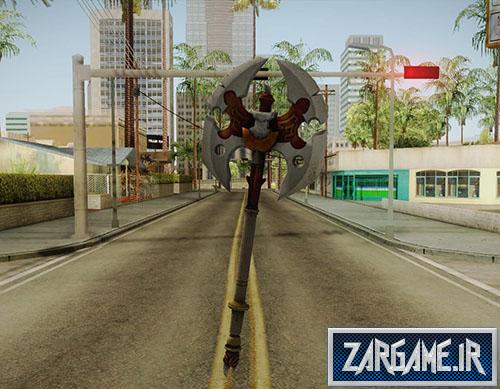 دانلود تبر جنگی برای بازی (GTA 5 (San Andreas