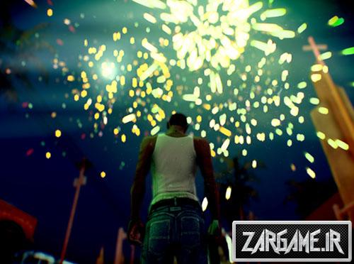 دانلود مد چهارشنبه سوری برای بازی (GTA 5 (San Andreas