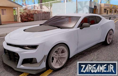 دانلود ماشین شورلت کامارو 2018 برای (GTA 5 (San Andreas