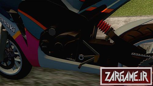 دانلود موتور سیکلت کاوازاکی نینجا برای بازی (GTA 5 (San Andreas