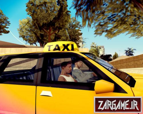 دانلود مد زنگ زدن به تاکسی برای (GTA 5 (San Andreas