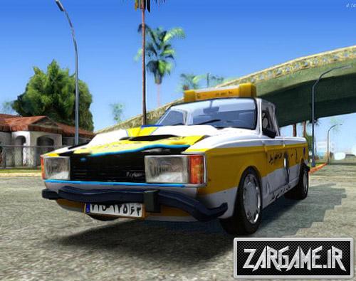 دانلود ماشین پیکان وانت جرثقیل برای بازی (GTA 5 (San Andreas