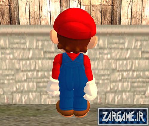دانلود اسکین سوپرماریو برای بازی (GTA 5 (San Andreas