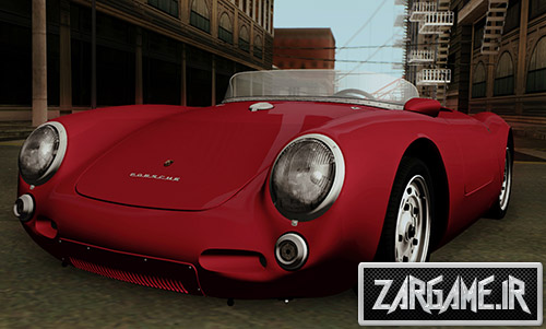دانلود ماشین کلاسیک Porsche 550A Spyder 1956 برای بازی (GTA 5 (San Andreas