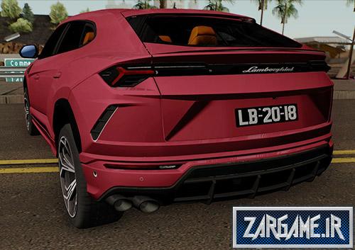 دانلود ماشین لامبورگینی URUS 2018 برای بازی (GTA 5 (SanAndreas