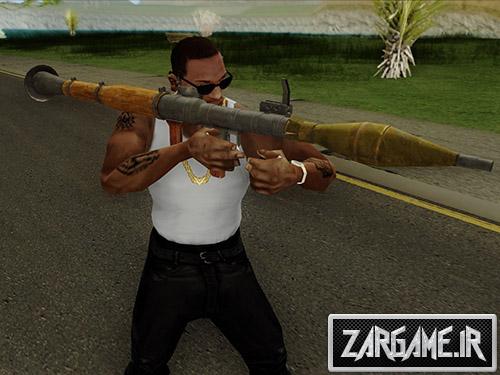 دانلود اسلحه RPG 7 برای بازی (GTA 5 (San Andreas