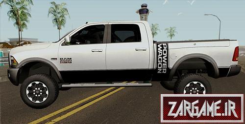 دانلود ماشین Dodge Ram 2500 Power Wagon مدل 2018 برای بازی (GTA 5 (San Andreas