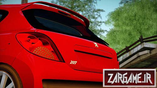 دانلود ماشین پژو 207 برای بازی (GTA 5 (San Andreas