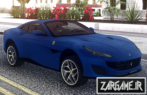 دانلود ماشین Ferrari Portofino 2018 برای بازی (GTA 5 (San Andreas
