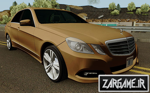 دانلود ماشین مرسدس بنز E500 برای بازی (GTA 5 (San Andreas