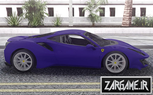دانلود ماشین Ferrari 488 Pista 2019 برای بازی (GTA 5 (San Andreas