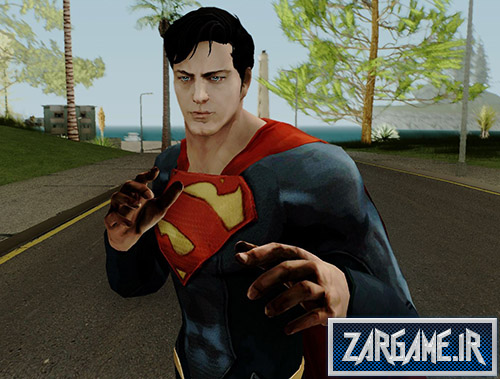 دانلود اسکین سوپرمن برای بازی (GTA 5 (San Andreas