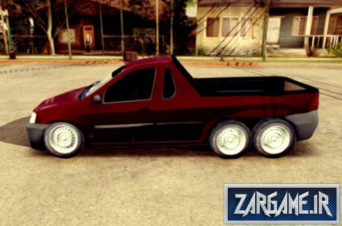 دانلود ماشین تندر 90 وانت شش چرخ برای بازی (GTA 5 (San Andreas