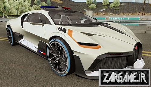 دانلود ماشین پلیس بوگاتی Divo 2019 برای بازی (GTA 5 (San Andreas