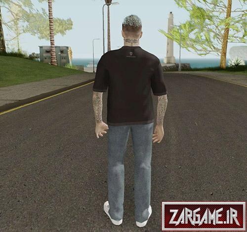 دانلود اسکین دیویدبکهام برای بازی (GTA 5 (San Andreas