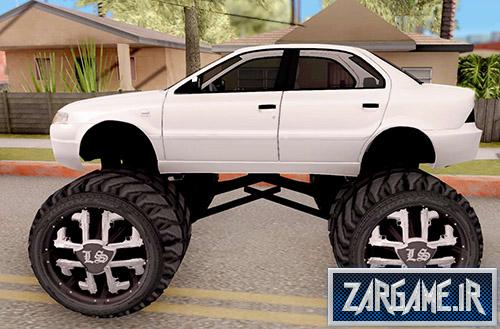 دانلود ماشین سمند سورن مانستر برای بازی (GTA 5 (San Andreas