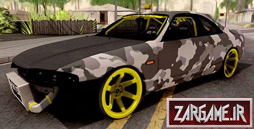دانلود ماشین Nissan Skyline R33 Drift Camo برای بازی (GTA 5 (San Andreas