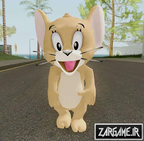 دانلود پک اسکین تام و جری برای بازی (GTA 5 (San Andreas