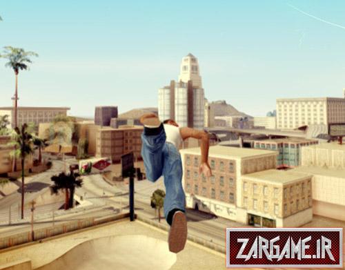 دانلود مود شنا کردن در آسمان برای بازی (GTA 5 (San Andreas