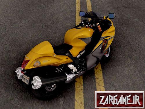 دانلود موتور Suzuki GSX1300R Hayabusa برای بازی (GTA 5 (San Andreas