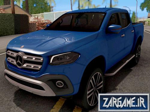 دانلود ماشین Mercedes-Benz X-Class 2018 برای بازی (GTA 5 (San Andreas