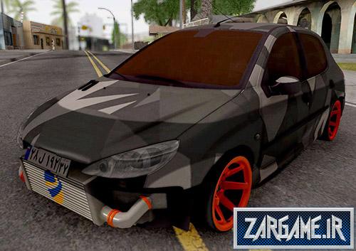 دانلود ماشین پژو 206 فول اسپورت برای بازی (GTA 5 (San Andreas