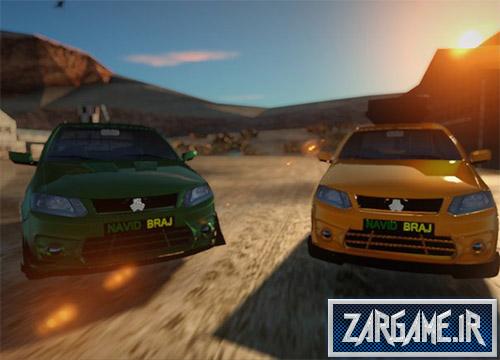 دانلود ماشین سایپا ساینا برای بازی (GTA 5 (San Andreas