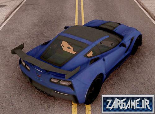 دانلود ماشین Chevrolet Corvette ZR1 2019 برای بازی (GTA 5 (San Andreas