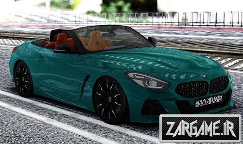 دانلود ماشین BMW Z4 2019 برای بازی (GTA 5 (San Andreas