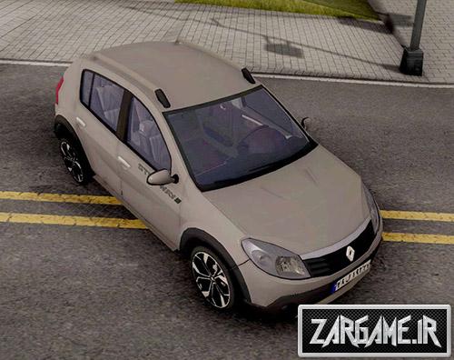 دانلود ماشین رنو ساندرو استپ وی برای بازی (GTA 5 (San Andreas