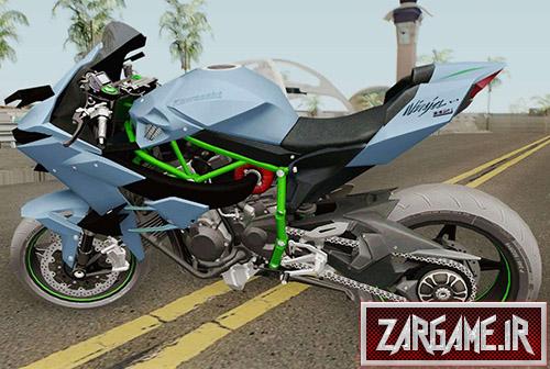 دانلود موتور Kawasaki Ninja H2R 2019 برای بازی (GTA 5 (San Andreas