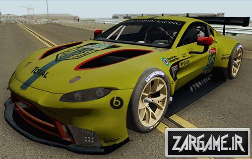 دانلود ماشین مسابقه ای Aston Martin Vantage GT3 2019 برای بازی (GTA 5 (San Andreas