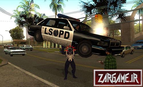 دانلود مد کامل تبدیل به مردعنکبوتی برای بازی (GTA 5 (San Andreas