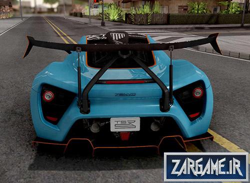 دانلود ماشین Zenvo TSR-S 2019 برای بازی (GTA 5 (San Andreas