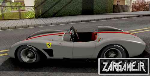 دانلود ماشین کلاسیک Ferrari 500 TRC 1957 برای بازی (GTA 5 (San Andreas