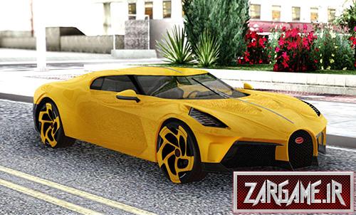 دانلود ماشین بوگاتی La Voiture Noire 2019 برای بازی (GTA 5 (San Andreas