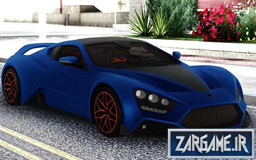 دانلود ماشین Zenvo ST1 GT 2019 برای بازی (GTA 5 (San Andreas