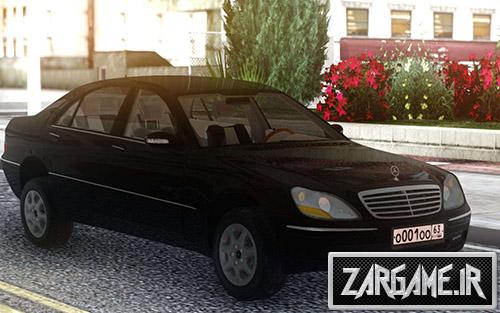 دانلود ماشین مرسدس بنز W220 برای بازی (GTA 5 (San Andreas