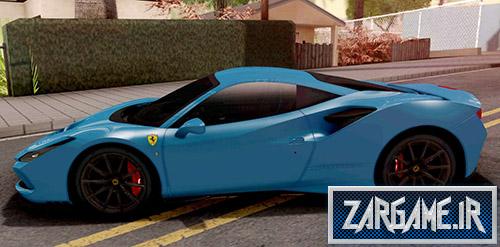 دانلود ماشین Ferrari F8 Tributo 2020 برای بازی (GTA 5 (San Andreas