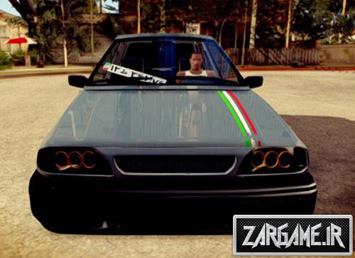 دانلود ماشین پراید 131 اسپورت جدید برای بازی (GTA 5 (San Andreas