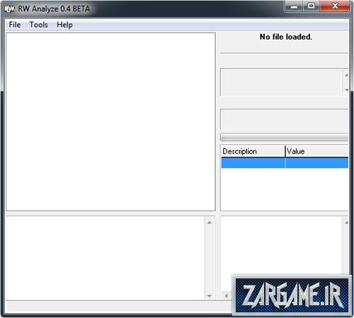 دانلود نرم افزار RWAnalyze شکستن قفل فایل های DFF