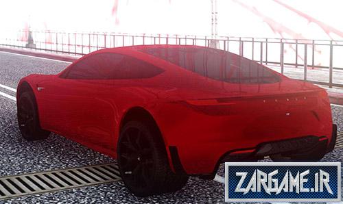 دانلود ماشین Tesla Roadster 2020 برای بازی (GTA 5 (San Andreas