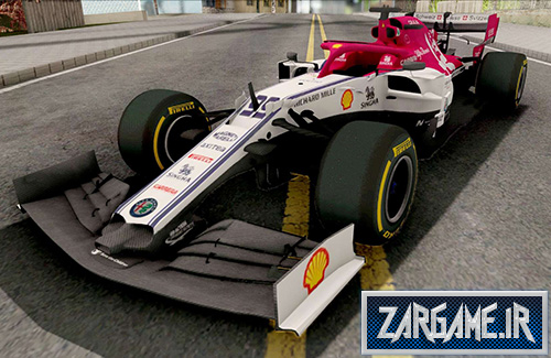 دانلود ماشین مسابقه ای آلفا رومئو C38 F1 2019 برای بازی (GTA 5 (San Andreas