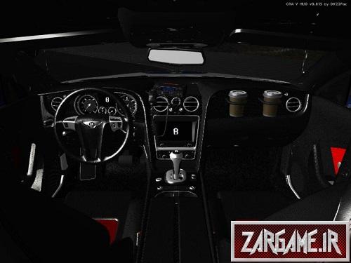 دانلود ماشین پلیس Bentley Continental ناجا و راهنمایی رانندگی برای (GTA5 (San Andreas
