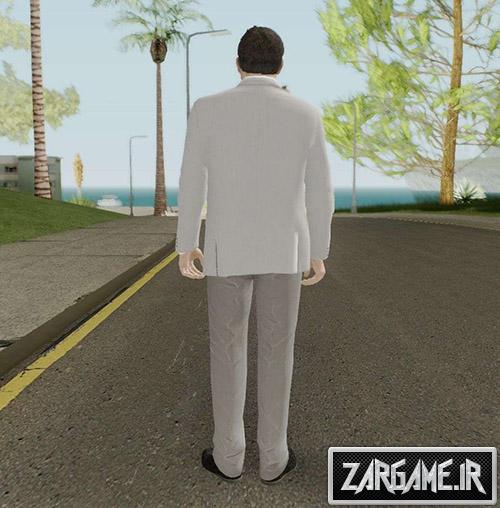 دانلود اسکین مایکل از بازی GTA V برای بازی (GTA 5 (San Andreas