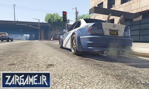 دانلود ماشین Bmw M3 GTR برای بازی GTA V