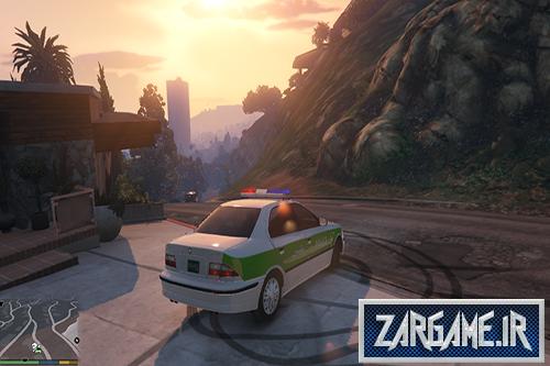 دانلود ماشین سمند پلیس برای بازی GTA V